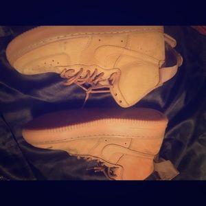 Nike Air Force 1 wheats